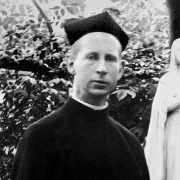 Fr browne as a young man