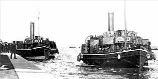 Quelle était les 2 transbordeurs pour l'escale de Queenstown?