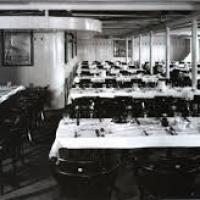 Quelle était la capacité maximale de la salle à manger de troisième classe ?