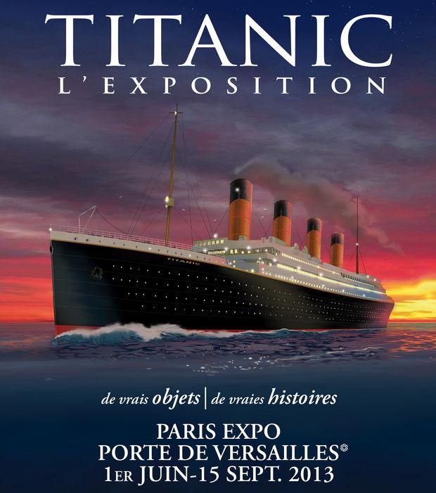 L exposition titanic se tient du 1er juin au 15 juillet au parc des expositions porte de versailles et presente une collection inedite d objets authentiques 60651 w620